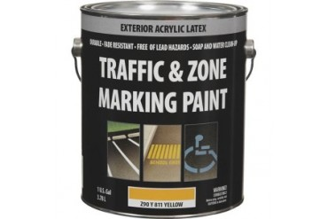 Z90Y00811-16 Latex Traffic And Zone Marking Traffic Paint Yellow