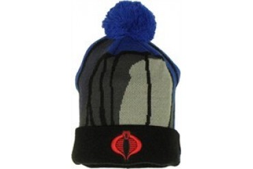 GI Joe Cobra Commander Woven Head Cuff Embroidered Beanie