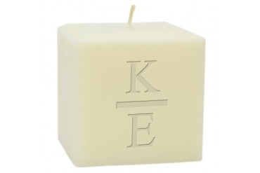 4 Soy Blend Candle Monogram