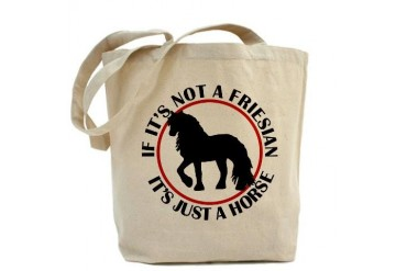 Friesian Horse Horse Tote Bag by CafePress