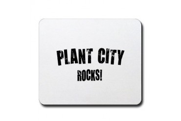 Plant City Rocks Florida Mousepad by CafePress