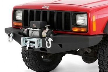 Smittybilt XRC Rock Crawler Winch Bumper with  D-ring Mounts 76810 Front Bumpers
