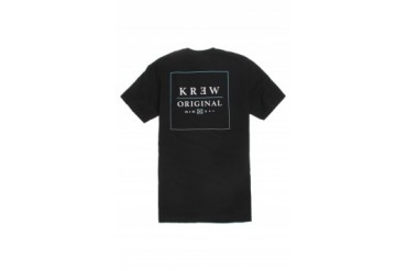 Mens Kr3w T-Shirts - Kr3w Boxfade Pocket T-Shirt