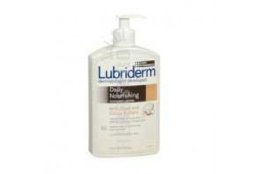 Lubriderm Daily nourishing radiance lotion Shea and Cocoa Butter 16 oz