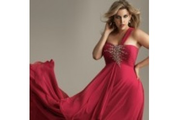 Night Moves Plus Size Prom Dresses - Style 6376W