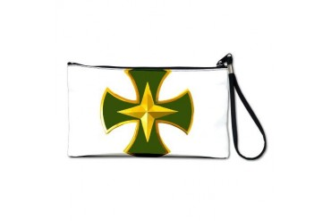Lapland Jaeger Cross Army Clutch Bag by CafePress