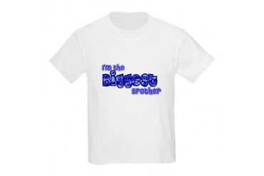 I'm The Biggest Brother Kids Light T-Shirt