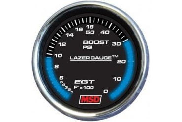 MSD Boost Gauge 4630 Gauges