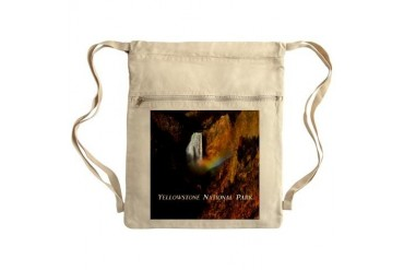 Yellowstone National Park Sack Pack Photography Cinch Sack by CafePress