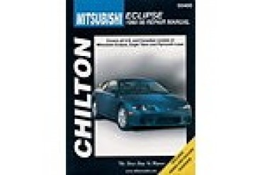 1990-1998 Mitsubishi Eclipse Manual Chilton Mitsubishi Manual 50400