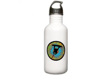 WAKEBOARD Music Stainless Water Bottle 1.0L by CafePress