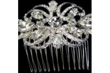 AA Bridal Hair Comb - Style TRS2335