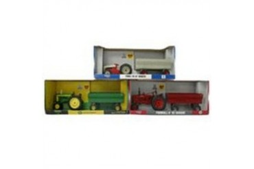 4 Pack Rc2 Brands, Inc 37173 1 16 Tractor W Wagon Asst