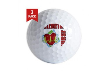 Telemetry Nurse Nurse Golf Balls by CafePress