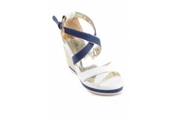 Ashley Espadrille Strappy Wedges
