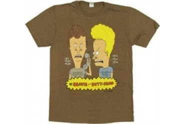Beavis and Butthead Prank Call T-Shirt Sheer