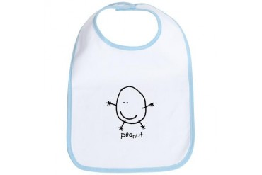Peanut World Bib by CafePress