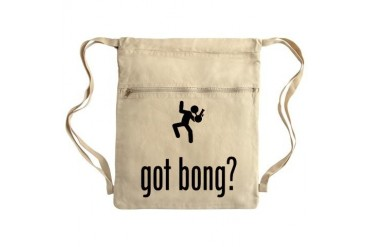 Bong Sack Pack Funny Cinch Sack by CafePress