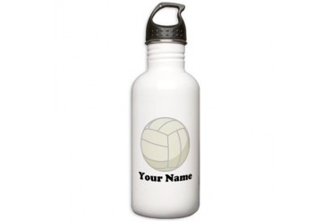 Personalized Volleyball Gift Stainless Water Bottl
