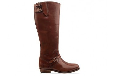 Frye Dorado Buckle Riding Boot in Whiskey size 9.0