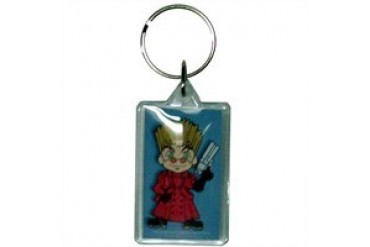 Trigun Super Deformed Vash Keychain