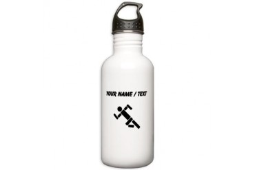 Custom Runner Pictogram Water Bottle