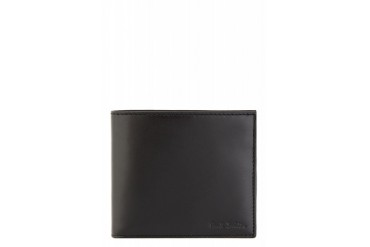 Paul Smith Black Striped Interior Bifold Wallet