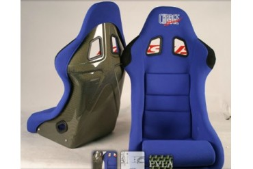 ChargeSpeed Racing Seat Shark Type Kevlar Blue Japanese Kevlar