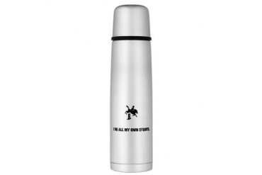 Equestrian Large Thermos Bottle Funny Large Thermosreg; Bottle by CafePress