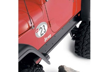Warn Rock Sliders  69875 Rocker Panel Guard