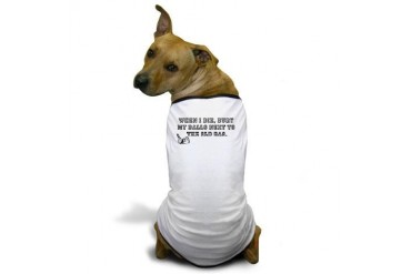 Golfballs Funny Dog T-Shirt by CafePress