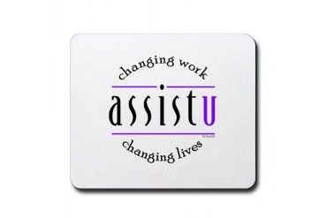 Assist U Administrative assistant Mousepad by CafePress