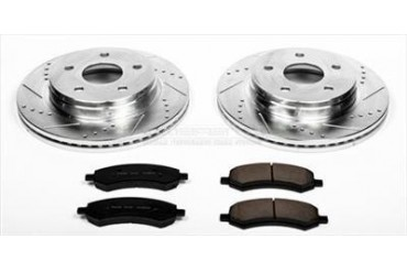 Power Stop Performance Brake Upgrade Kit K2163 Replacement Brake Pad and Rotor Kit
