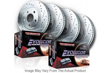 2007-2010 Ford Fusion Brake Disc and Pad Kit Powerstop Ford Brake Disc and Pad Kit K200 07 08 09 10