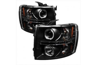 Spyder Auto Group Halo LED Projector Headlights 5009494 Headlight Replacement