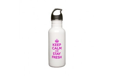 pcco 14.png Funny Stainless Water Bottle 0.6L by CafePress