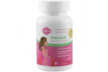 Fairhaven PeaPod Prenatal Multivitamin 60ct Before After Pregnancy Natural