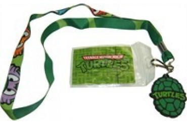 Teenage Mutant Ninja Turtles Masks Shell Charm ID Badge Lanyard