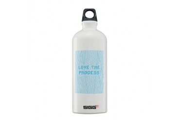 Love the Process.jpg Vintage Sigg Water Bottle 0.6L by CafePress