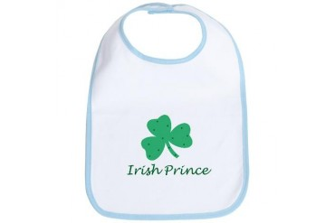 Irish Prince Baby New baby Bib by CafePress