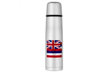 Hawaii Flag Large Thermos Bottle Flag Large Thermosreg; Bottle by CafePress