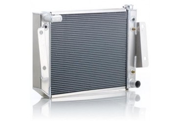 Be Cool Dual Core Radiator Module Assembly for GM V8 Engines with Automatic Transmission 82222 Radiator
