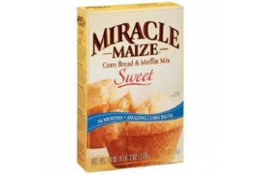 Miracle Maize Sweet Corn Bread amp Muffin Mix