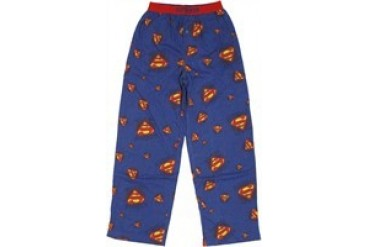 DC Comics Superman Logo All Over Collage Pajama Pants
