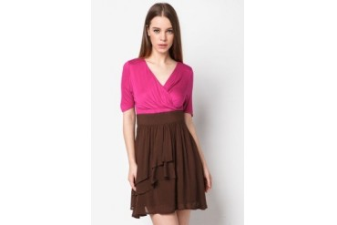 Ruffles Hem Dress