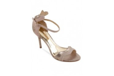 Satryani by Shoeville Heels with Ankle Strap