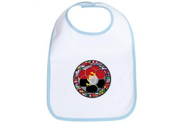 Angola Flag World Cup Football Soccer No Labels Bi Soccer Bib by CafePress