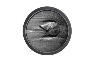 Sand Dollar Beach Wall Clock by CafePress