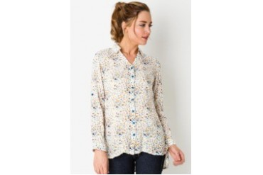 Triset Long Sleeve with Collar Shirt