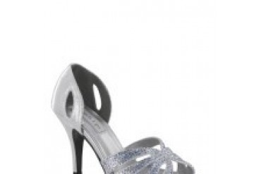 Touch Ups Shoes - Style Poise Silver 4059